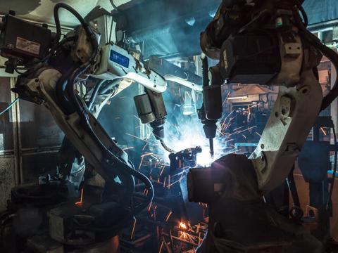 工業ロボット